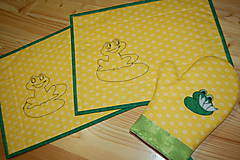 Úžitkový textil - žabky - 10371417_