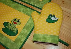 Úžitkový textil - žabky - 10371420_