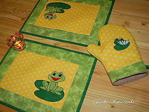 Úžitkový textil - žabky - 10371410_