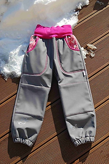 8ed73a766958 Detské oblečenie - Softshellové kalhoty 30 15