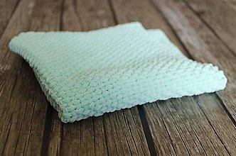 Úžitkový textil - Deka mentolová - 10377514_