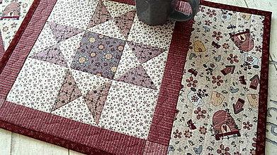 Úžitkový textil - Sweet Garden ... prestieranie 2 ks - 10375463_