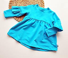 Detské oblečenie - Dievčenská tunika - 10376836_