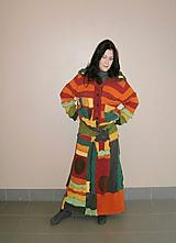 Svetre/Pulóvre - lelohrej color sveter a sukňa maxi plachtavá - 10378182_
