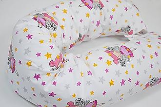 Textil - Vankúš na dojčenie lietajúca víla - 10376376_