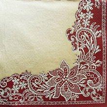 Papier - S1390 - Servítky - folk, čipka, krajka, výšivka, ornament - 10375009_