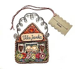 Tabuľky - ♥Ochranná víla Menovka pre vilu Janku♥ - 10375019_