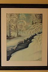 Obrazy - Zimná krajinka - 10375575_