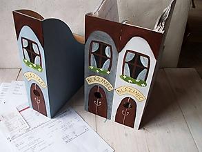 Krabičky - Maľované šanóny Blázinec - 10375570_