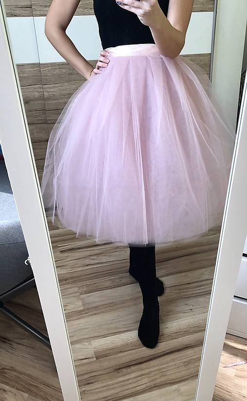 cc55a4fef0dc Tylová spoločenská sukňa   TinyThea - SAShE.sk - Handmade Sukne