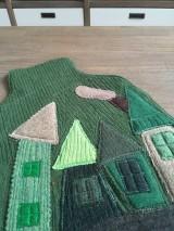 Úžitkový textil - Termofor v zelenom domčekový - 10375089_