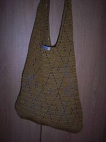 Veľké tašky - sladká medová taška - 10376755_