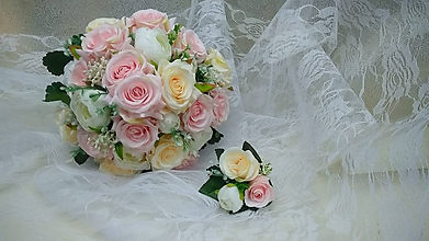 Kytice pre nevestu - svadobná kytica