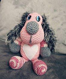 Hračky - Pinki dog - 10377837_