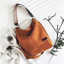 Kabelky - Lana (oranžovo-hnedá) - 10376992_