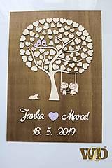 Dekorácie - Svadobný strom od 80-100 ľudí - 10377614_