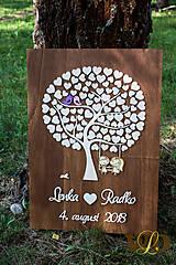 Dekorácie - Svadobný strom 120 ľudí - 10377621_