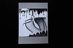 Kresby - // Nad zemou i pod zemou //obrázky/ kresba ceruzou vytvárajúca príbeh/ - 10376731_