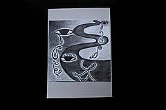 Kresby - // Nad zemou i pod zemou //obrázky/ kresba ceruzou vytvárajúca príbeh/ - 10376736_
