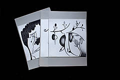 Kresby - // Nad zemou i pod zemou //obrázky/ kresba ceruzou vytvárajúca príbeh/ - 10376739_