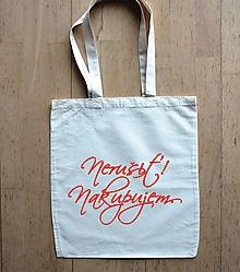 Nákupné tašky - taška nerušiť - 10375984_