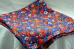Textil - Materiál. Látka - Kvietočková retro viskóza. - 10377756_
