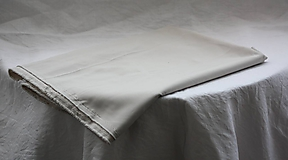 Textil - Materiál. Látka - Béžový hrubší žoržet. - 10377864_