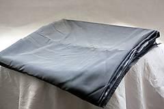 Textil - Materiál. Látka - Šedozlatý tyl . - 10377902_