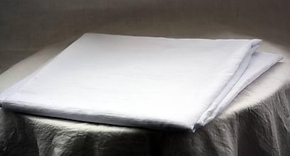 Textil - Materiál. Látka - Biely krepdešín. - 10377676_