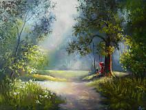 Obrazy - ODPOČINOK V LESE - 10377075_