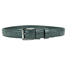 Doplnky - Čierny kožený opasok so vzorom, 3cm, ručne dezenovaný - 10377720_