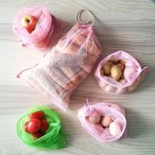 Nákupné tašky - Nákupný komplet eko vreciek na zeleninu - premium - 10375853_