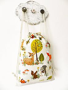 Detské tašky - ruksačik Lesní kamaráti 3-6r. - 10376455_