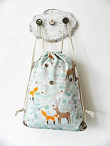 Detské tašky - Ruksačik Lesné zvieratká II. 3-6r. - 10376490_