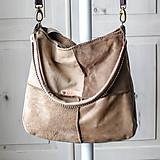 Veľké tašky - Casual leather *hobo* bag - 10375287_