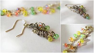 Sady šperkov - Slzičkový setík (japonské korálky) - 10375831_