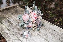 """Kytice pre nevestu - Romantický boho kvetinový set """"láskou pretvoriť"""" - 10375369_"""