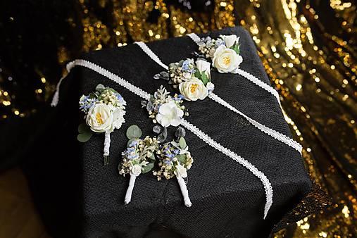 b8ac1592e9de Kvetinové svadobné doplnky ku kytici