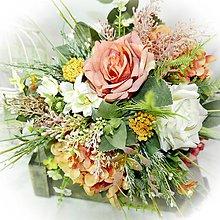 Dekorácie - Kytice / i svatební/ - Sunny - 10378093_