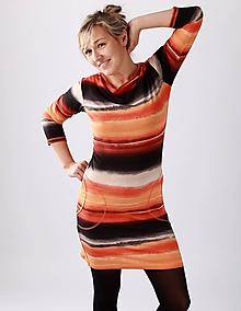 Šaty - Oranžádky... - 10374863_