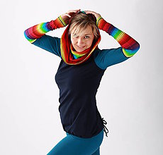 Mikiny - Barvínková mikina... - 10374904_