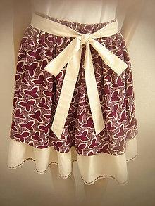 Sukne - Sukňa s volánkovou spodničkou - 10377406_