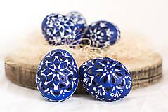 Dekorácie - slepačie kraslice modré - 10375719_