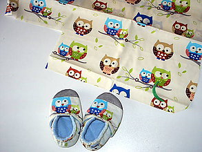 Topánočky - sovičky , hviezdičky..... - 10375143_