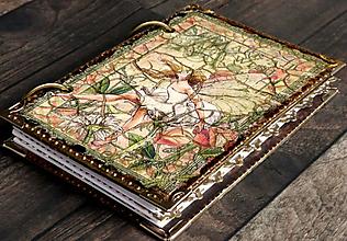 Papiernictvo - Zápisník lúčnej víly-posledný kus - 10377194_