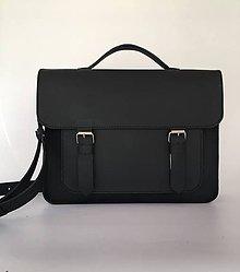 Veľké tašky - Čierna aktovka - 10376411_