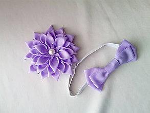 Ozdoby do vlasov - Spona s motýlikom - 10376216_