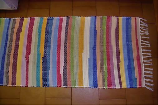 Tkaný koberec pestrofarebný  5