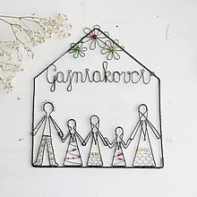 Tabuľky - domček pre veľkú rodinku (pre päťčlennú rodinku) - 10378986_