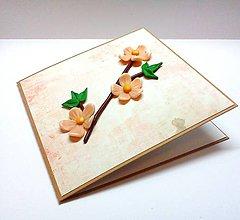 Papiernictvo - Pohľadnica ... rozkvitla - 10381681_